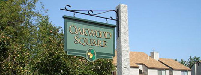 Oakwood Exterior With Sign