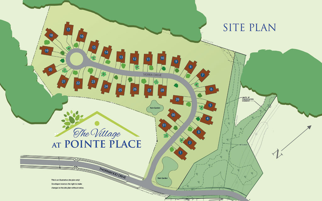 Point Place Site Map