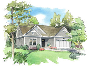 Redbrook Plymouth Winterberry Home Drawing